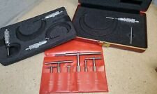 Starrett No 579 Telescoping Gages With Central Micrometer Set 0 4 Made In Usa