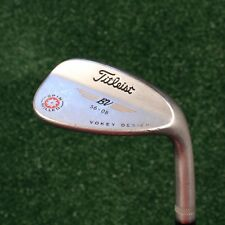 TITLEIST BV 56-08 VOKEY DESIGN 58* RH SPIN MILLED SAND WEDGE W/WEDGE FLEX SHAFT