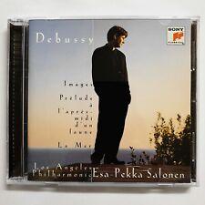 Debussy: Images; Prelude a l'apres; Midi d'un Faune; La Mer CD Esa-Pekka Salonen