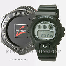 Authentic Casio G-Shock Men's Black Classic Series Digital Watch DW6900HM-1