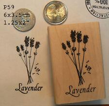P59 Lavender  rubber stamp WM