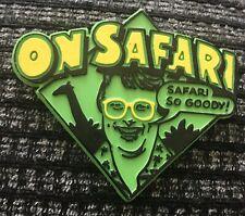 On Safari Christopher Biggins Badge