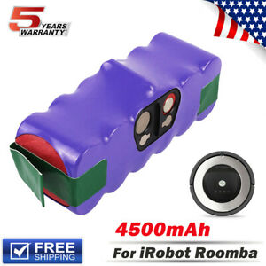 NEW Upgraded 14.4V For IRobot Roomba 4.5Ah Battery Ni-mh 500 650 655 690 805 960