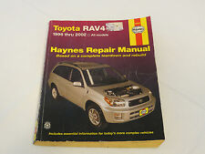 Toyota Rav4 1996-2002 all models Haynes Repair Manual teardown rebuild 92082