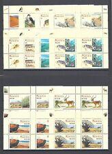 NAMIBIA 2007 SG 1053/64 MNH Blocks of 4 Cat £112