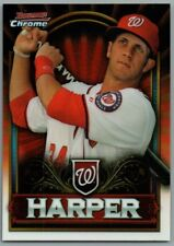 BRYCE HARPER 2011 Bowman Chrome Retail Exclusive #BCE1R Red Washington Nationals
