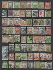 China Manchukuo 1930's-1940's Mint & Used Mixed #14