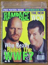 Rampage Wrestling Magazine - May 2001 -  ECW, WCW, WWF, XPW - Brand New!