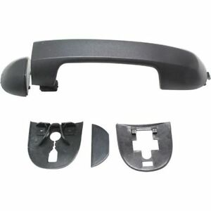 Door Handle Exterior Outside Black Textured for 10-13 Ford Transit Connect