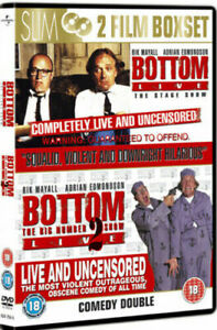 Bottom Live The Stage Show 1&2 Dvd Rik Mayall Brand New & Factory Sealed (1993)