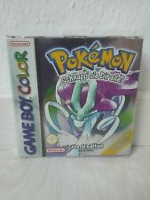 Pokémon: Crystal Edition OVP (Nintendo Game Boy Color) - BLITZVERSAND