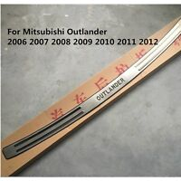 Stainless Steel Rear Bumper Protector Sill For Mitsubishi Outlander 2006-2012