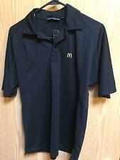 McDonalds short sleeve work Polo size XS Black item# 109-211