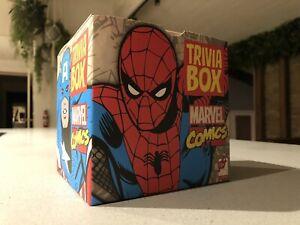 SEALED! TRIVIA BOX! Marvel Spider-Man Iron Man Hulk Thor Daredevil