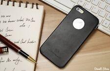 Slim HandyHülle für Apple iPhone 5s 5 Tasche Hülle Case - Schwarz (2CSC)