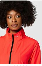 Under Armour International Womens Gym Running Training Jacket M Top Marathon Red