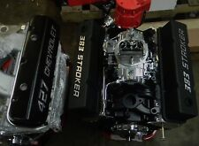 383 450HP  STREET CRUISER SERIES  CHEVY CRATE ENGINE 2017 MODEL NO RESERVE