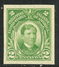 U.S. Possession Philippines stamp scott 340 - 2 cent imperf issue - mnh - #11