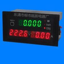 5IN1 AC 220V 380V /100A Digital Voltmeter/Ammeter/Active Power Meter KWH Energy