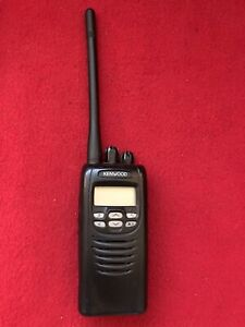 Kenwood NX-200 VHF Handheld Portable Radio  2 Way Portable New Battery.