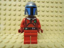 Lego personaje Star Wars Santa Jango negrita + mochila + regalos sw506 75023