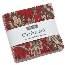 "Chafarcani Mini 2.5"" Charm Pack by French General for Moda Fabrics"