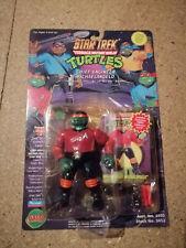 TMNT Teenage Mutant Ninja Turtles STAR TREK Chief Enginee MIKE Action Figure MOC