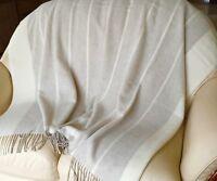 Kaschmirplaid Plaid Decke Sofadecke Tagesdecke Wolldecke Überwurf 145x200cm