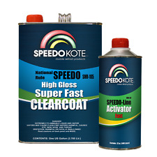 Mobile Refinish Clear Coat High Gloss Super Fast Clearcoat Gallon Kit SMR-105/60