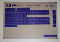 Microfiche Spare Parts Catalog Kawasaki En 500 B1/B2 Model 1994/95 Was 10/94