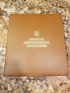 American Commemorative Stamp Collection Binder, 56 Panels from 1989-91