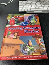 Disney Amazing Adventure Stories Book (Cars, Monsters Inc & Toy Story)