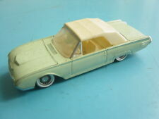 voiture miniature SOLIDO - made in France FORD Thunderbird 1961 4504 1/43 06.85