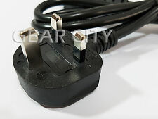 cp01k 1.8m 6ft UK 3 Pin IEC C13 Mains Power 13A Fuse Cable Cord Ø 7.0mm 3x 1mm²