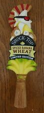 """Shock Top Spiced Banana Wheat Beer Tap Handle 12"""" Tall - Brand New In Box"""