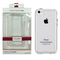 Case-Mate Naked Tough Dual-Layer Impact Absorbing Case for iPhone 5c - Clear