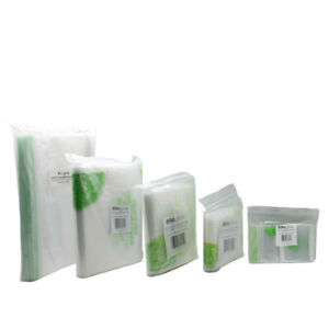 Zip Lock Bags Biodegradable Plastic | 200 Mini and 100 Small, Medium, Large Size