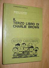 CHARLES M. SCHULZ PEANUTS IL TERZO LIBRO DI CHARLIE BROWN 1971 MILANO LIBRI EDIZ
