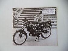 - RITAGLIO DI GIORNALE ANNO 1982 - MOTO CASAL RZ 50
