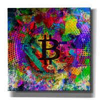 "Epic Graffiti ""Bitcoin Color"" Giclee Canvas Wall Art"