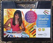 "Encaustic Painting  "" Studio Koffer"" Malen mit Wachs ++ Profi-Set"