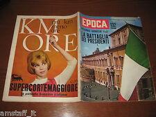 EPOCA 1962/606=ELIZABETYH TAYLOR=MAXIMILIAN SCHELL=JACKIE COCHRAN=FRANCO CITTI=