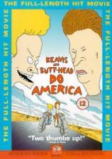Beavis And ButtHead Do America DVD Mike Judge Bruce Willis New Sealed UK R2