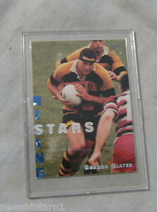 1995 NEW ZEALAND  RUGBY UNION CARD - RS2 GORDON SLATER