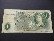 England Note British Banknotes with Replacement