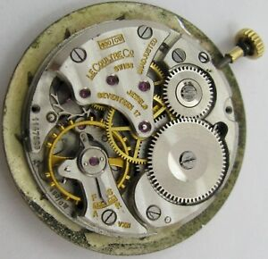 Jaeger LeCoultre VXN 480 /CW Watch Movement for project or parts ...