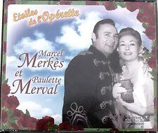 MARCEL MERKES et PAULETTE MERVAL . COMPILATION  READER'S DIGEST . 3 CD