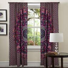 Mandala Ombre Purple Mandala Curtains Bohemian Decor Panel Room Divider Drape