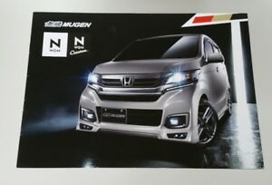 2016 Honda N WGN Custom Mugen Power Performance Catalog Brochure Japan HTF