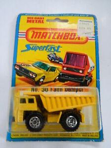 NIB Vintage 1976 Matchbox Superfast Die Cast Metal No 58 Faun Dumper